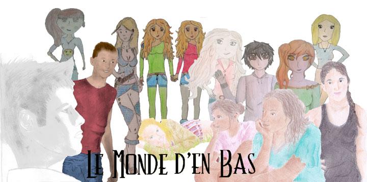 Retrouvez tous les dessins inspirés par Le Monde d'en Bas !