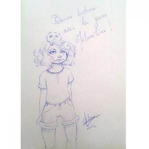 Héloïse De Ré, Mélanilène Blysara enfant