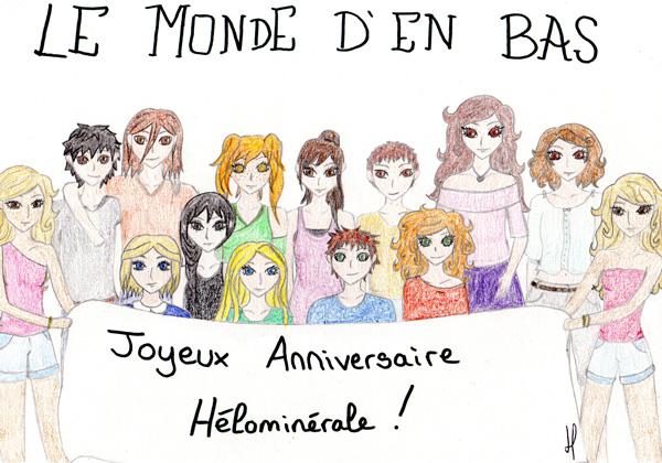 Le Monde d'en Bas, dessins, Emma