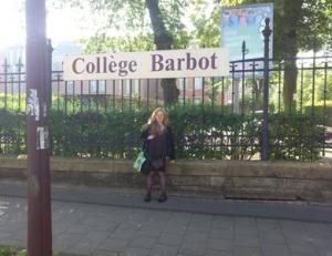 Héloïse De Ré, intervention au collège Barbot