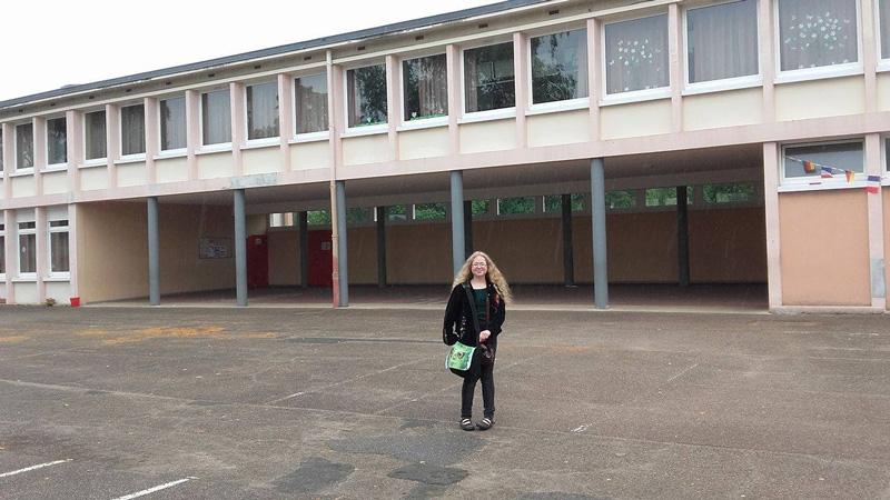 Héloïse De Ré, intefvention à l'école de La Houve