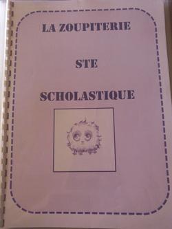 Héloïse De Ré, la zoupiterie Ste Scholastique