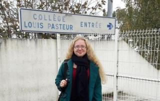 Héloïse De Ré, intervention collège Louis Pasteur de Faulquemont