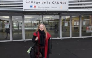 Héloïse De Ré : intervention au collège de la Canner
