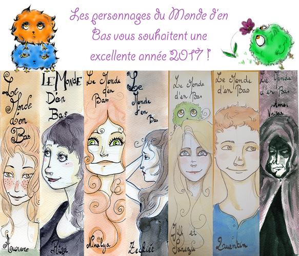 Héloïse De Ré, bonne année 2017
