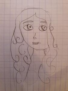 Héloïse De Ré, dessin de Ninalya, par Solarine
