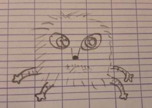 Héloïse De Ré, dessin de zoupi par Anna