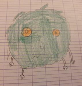 Héloïse De Ré, dessin de zoupi par Célia