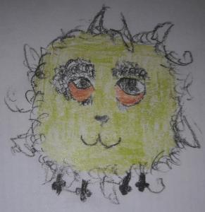 Héloïse De Ré, dessin de zoupi par Enzo