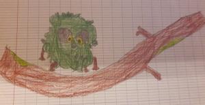 Héloïse De Ré, dessin de zoupi par Ewan
