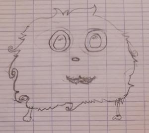 Héloïse De Ré, dessin de zoupi par Laetitia