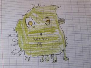 Héloïse De Ré, dessin de zoupi par Léa
