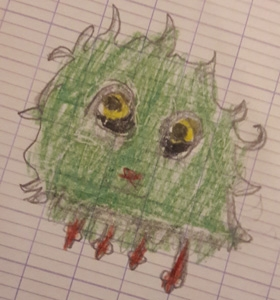 Héloïse De Ré, dessin de zoupi par Louis