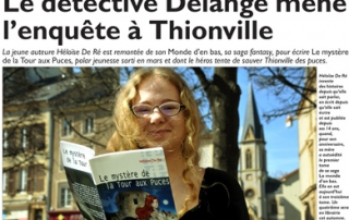 Héloïse De Ré, Républicain Lorrain, édition de Thionville