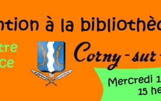 Héloïse De Ré, intervention à la Bibliothèque de Corny-sur-Moselle