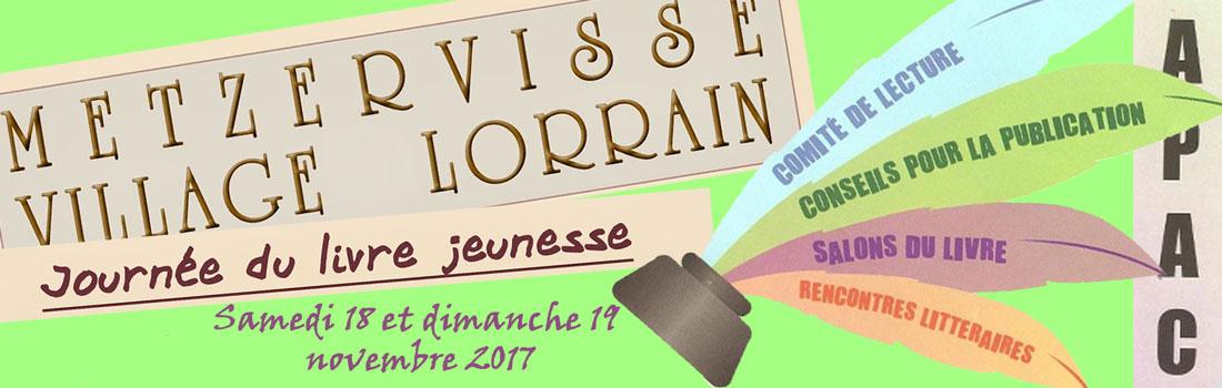 18 et 19 novembre 2017 : café littéraire et salon !