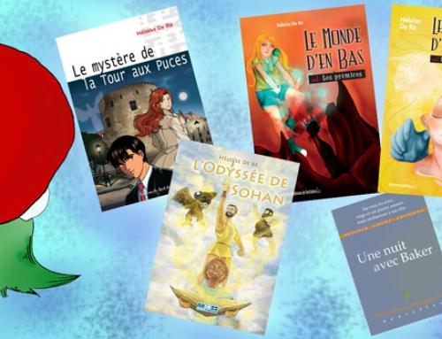 Le Père Noël adore apporter des livres (si, si !)