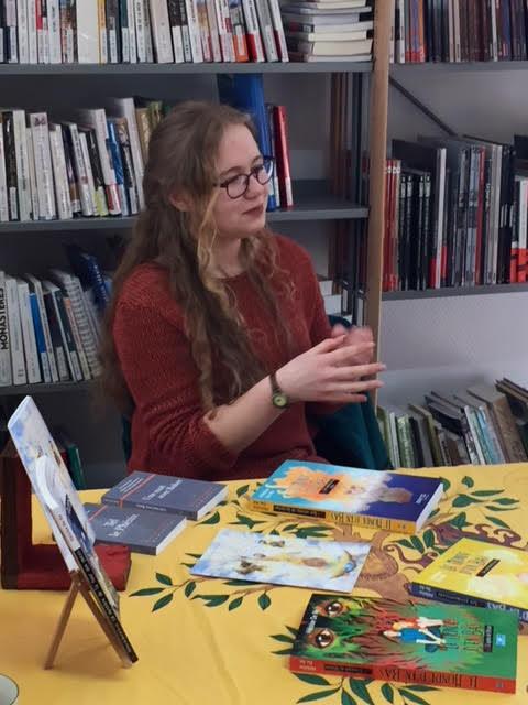 Héloïse De Ré – bibliothèque d'Hettange-Grande – café littéraire