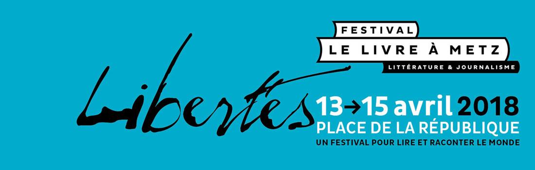 Festival Le Livre à Metz – édition 2018