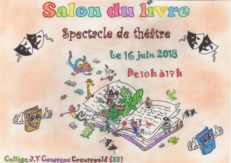 Héloïse De Ré, Salon du livre de Creutzwald 2018