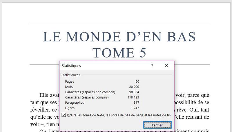 Héloïse De Ré – LMDEB tome 5 – 50 pages et 20 000 mots
