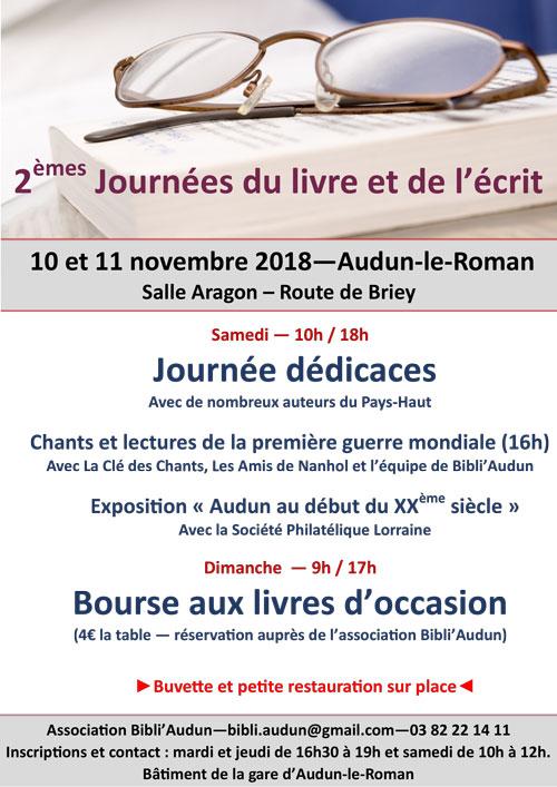 Héloïse De Ré, Salon du livre d'Audun-le-Roman
