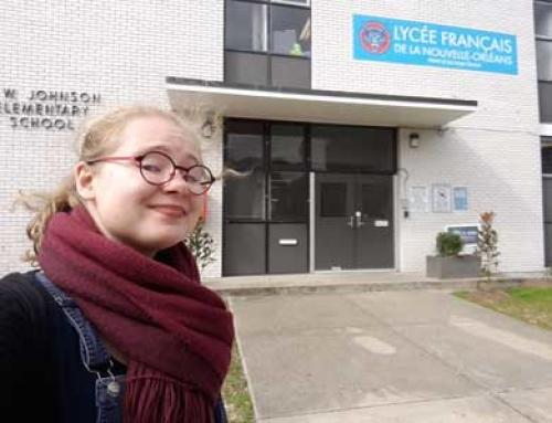 Lycée Français de la Nouvelle-Orléans, semaine 1