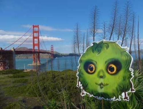 Golden Gate Bridge : de loin et de très près !