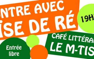 Héloïse De Ré – M-Tiss Café Littéraire