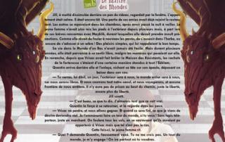 Héloïse De Ré – Le Maître des Mondes – deuxième extrait