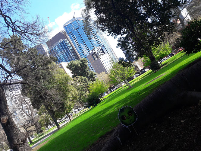 Héloïse De Ré, Melbourne, Carlton Gardens