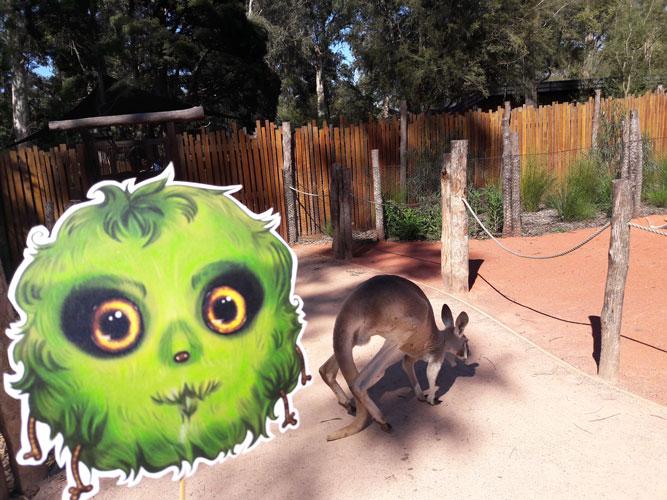 Héloïse De Ré, Melbourne, Healesville Sanctuary
