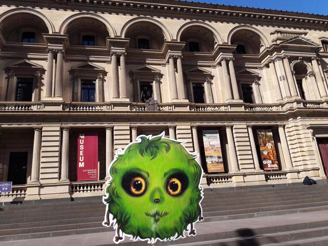 Héloïse De Ré, Melbourne, Old Treasury Building